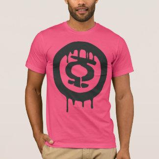 Het groene Symbool van de Verf van de Lantaarn T Shirt