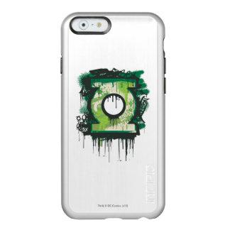 Het groene Symbool van Graffiti van de Lantaarn Incipio Feather® Shine iPhone 6 Hoesje