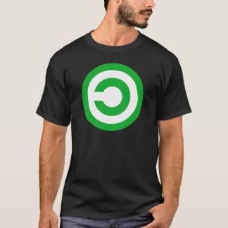 Het groene Symbool van het Domein van T Shirt