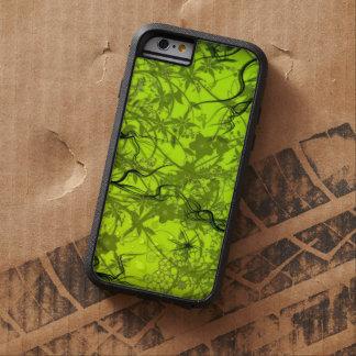het groene vectorart. van wervelingsflovers tough xtreme iPhone 6 case