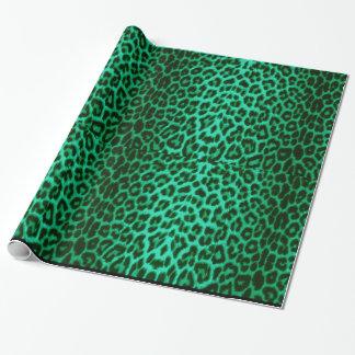 Het groene Verpakkende Document van de Druk van de Inpakpapier