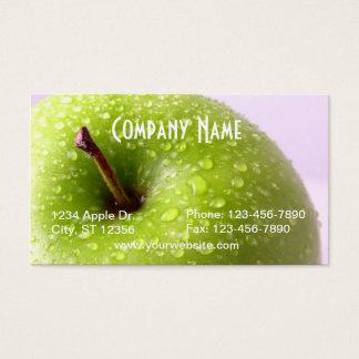 Het groene Visitekaartje van Apple Visitekaartjes