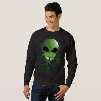 Het groene vreemde BasisSweatshirt van het Mannen Trui