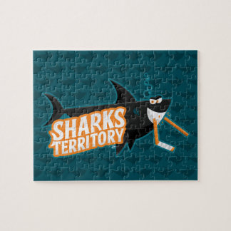 Het Grondgebied van haaien - Raadsel Puzzel