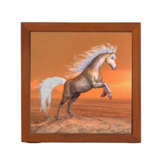 Het grootbrengen van het paard door 3D Pennenhouder
