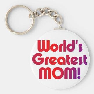 Het Grootste Mamma van de wereld Sleutelhanger