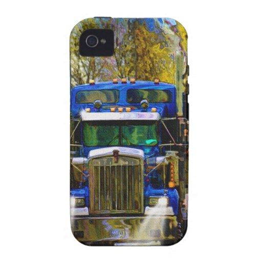 Het grote Art. van de Vrachtwagenchauffeur van het iPhone 4 Hoesje
