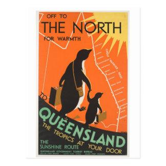 Het grote Briefkaart Penquins van het Barrièrerif