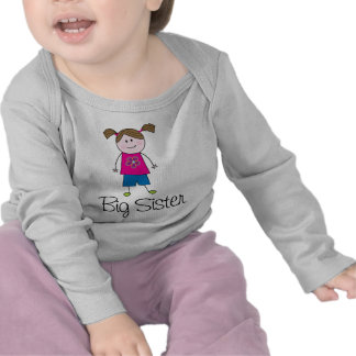 het grote cijfer van de zusterstok shirts