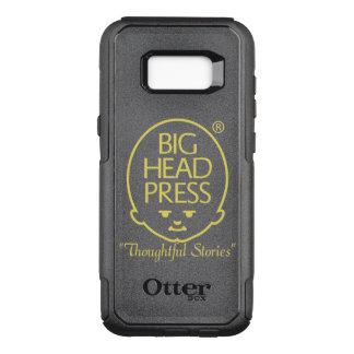 Het grote HoofdHoesje van de Telefoon van de Pers OtterBox Commuter Samsung Galaxy S8+ Hoesje