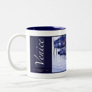 Het grote Kanaal Tweekleurige Koffiemok
