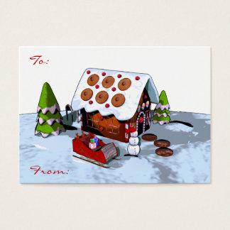 Het grote Label van de Gift van Kerstmis van het Visitekaartjes