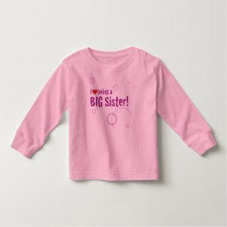 Het grote Lange Sleeve van de Zuster Kinder Shirts