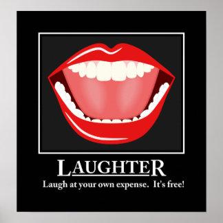 Het grote Motivatie Poster van het Gelach van de