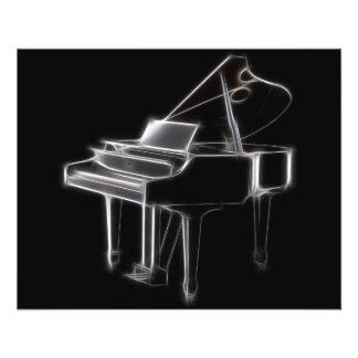 Het grote Muzikale Klassieke Instrument van de Flyer 11,4 X 14,2 Cm