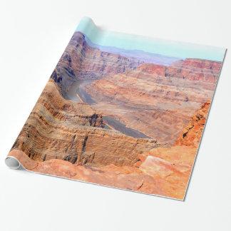 Het grote Nationale Park van de Canion Inpakpapier