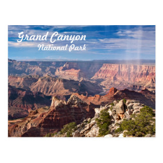 Het grote Nationale Park van de Canion tijdens een Briefkaart