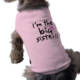 Het grote Overhemd van de Hond van de Zuster Mouwloos Hondenshirt