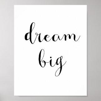 Het grote poster van de droom