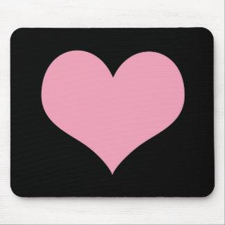 Het grote Roze Hart van de Liefde Muismatten