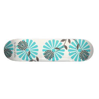 Het grote Skateboard van Bloemen