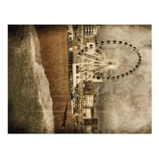 Het Grote Wiel Verouderde Briefkaart van Brighton