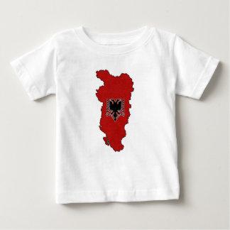Het grotere Overhemd van het Baby van Albanië Baby T Shirts