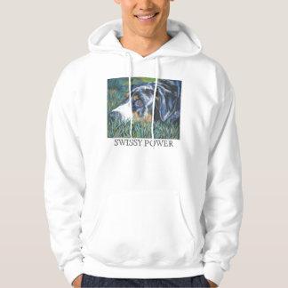 Het grotere Zwitserse Sweatshirt van Hoodie van de