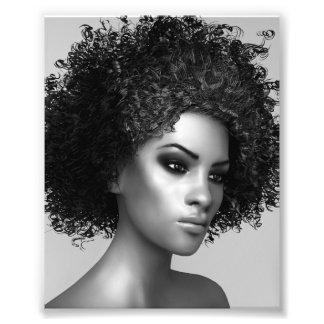 Het Haar van Afro Foto