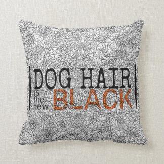 Het Haar van de hond is de Nieuwe Zwarte werpt Sierkussen