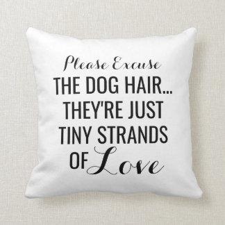 Het Haar van de hond, Uiterst kleine Bundels van Sierkussen