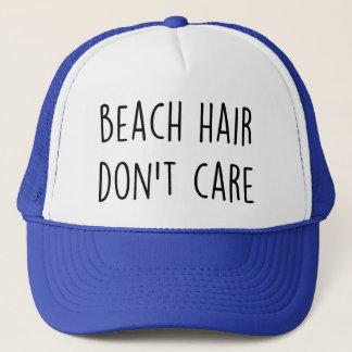 Het Haar van het strand geeft niet Trucker Pet