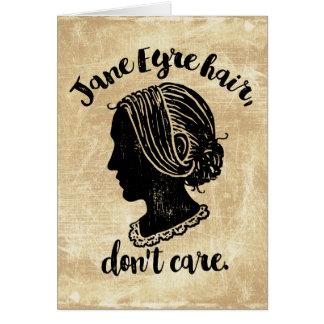 Het Haar van Jane Eyre geeft niet Briefkaarten 0