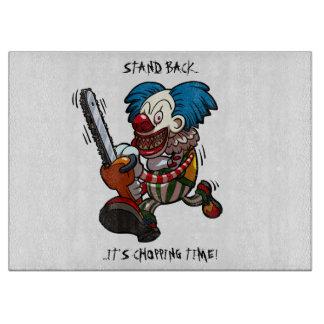 Het hakken Tijd! De Cartoon van Halloween van de Snijplank