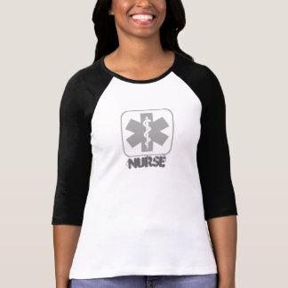 Het halve Overhemd van de Verpleegster van het T Shirt