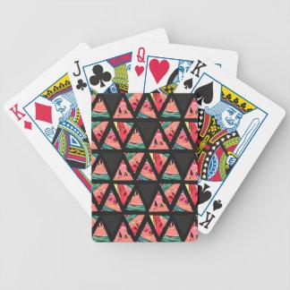 Het hand Getrokken Abstracte Patroon van de Poker Kaarten