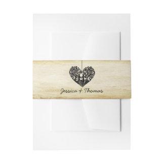 Het hangende Collectie van het Huwelijk van de Uitnodigingen Wikkel