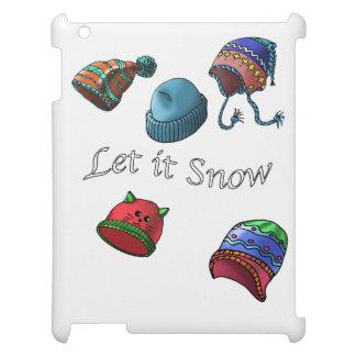 Het harde shell iPad MiniHoesje, liet het sneeuwen iPad Case
