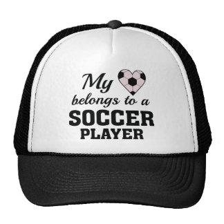 Het hart behoort Voetbal Pet
