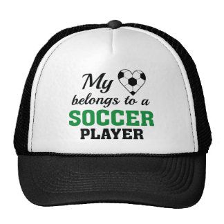 Het hart behoort Voetbal Pet Met Netje