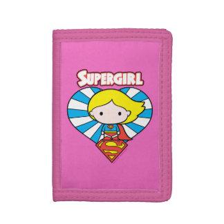 Het Hart en het Logo van Supergirl Starburst van