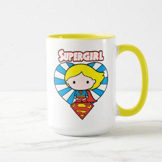 Het Hart en het Logo van Supergirl Starburst van Mok