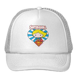 Het Hart en het Logo van Supergirl Starburst van Petten