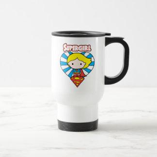 Het Hart en het Logo van Supergirl Starburst van Reisbeker