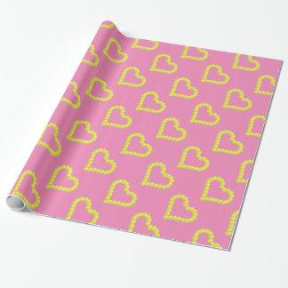 Het hart girly gelukkige Valentijnsdag van het Inpakpapier