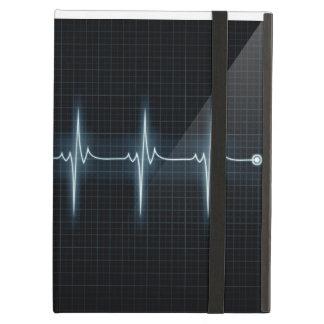 Het hart sloeg het Spoor iPad Powis van de Impuls iPad Air Hoesje