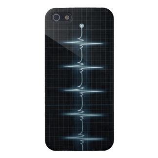 Het hart sloeg iPhone 5 van het Spoor van de Impul iPhone 5 Hoesje