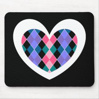 Het hart van Argyle Muismatten