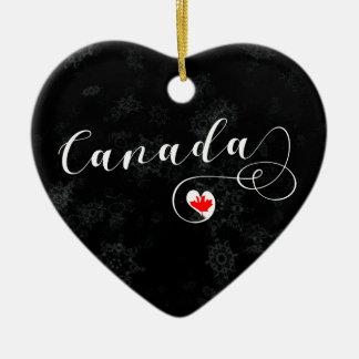 Het Hart van Canada, het Canadese Ornament van de