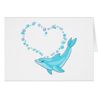Het Hart van de dolfijn Notitiekaart
